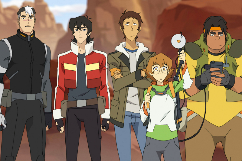 Voltron Force Characters Names Encyclotron: Men in Bl...
