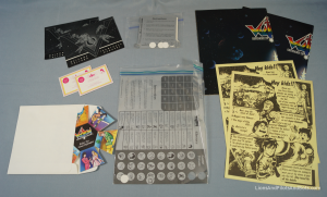 Voltron TeamForce - Contents of Both Envelopes