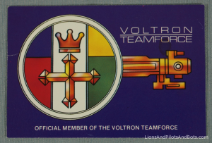 Voltron TeamForce - ID Card (Back)