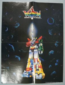 Voltron TeamForce Poster