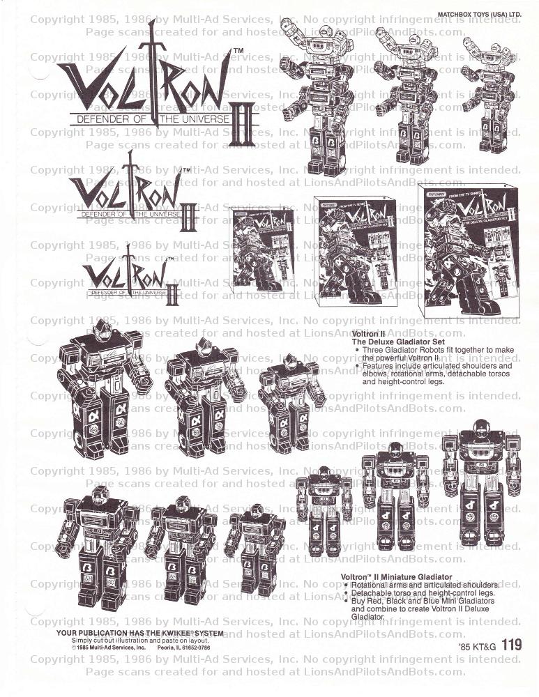 Lion Force Voltron – Lions and Pilots and Bots… Dot Com!