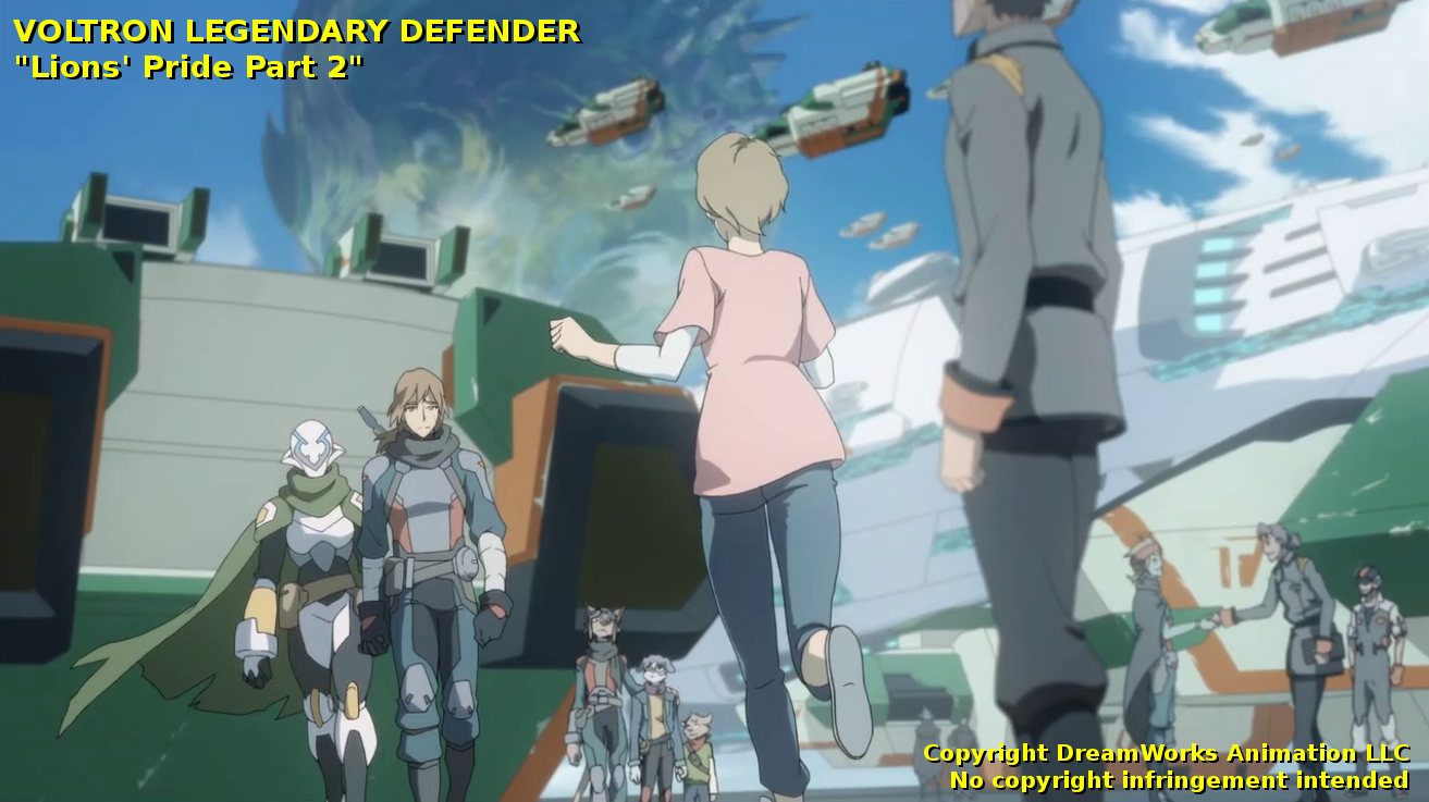 Voltron: Legendary Defender – Lions and Pilots and Bots… Dot
